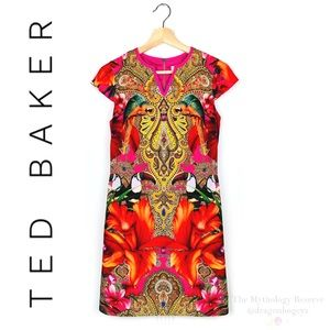 Ted Baker London Aalia Toucan Print Tunic Dress